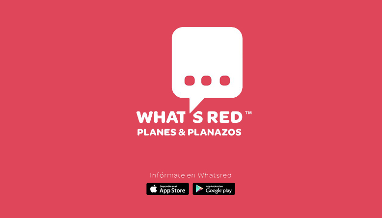 "Apunta't als nostres plans i ""planazos"" a Whatsred"