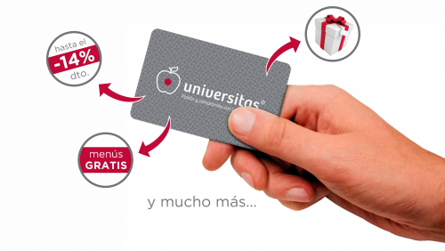 Don't you have Universitas Club card yet?
