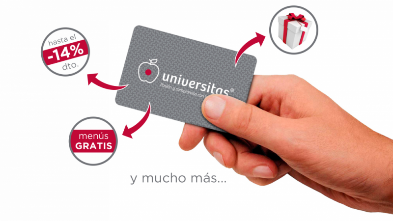 Don't you have the Universitas Club card yet?